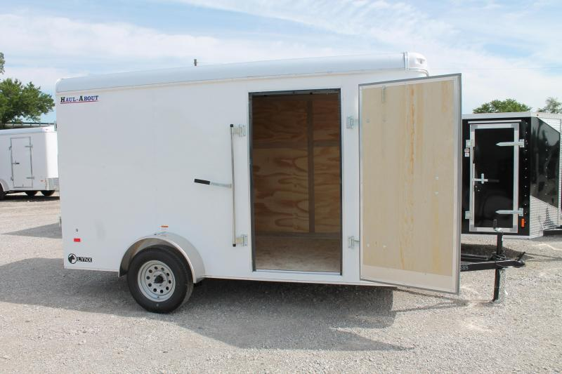 2020 Haul-About 6' X 12' RG Enclosed Cargo Trailer