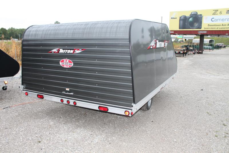 2019 Triton Trailers XT 12' TILT Snowmobile Trailer