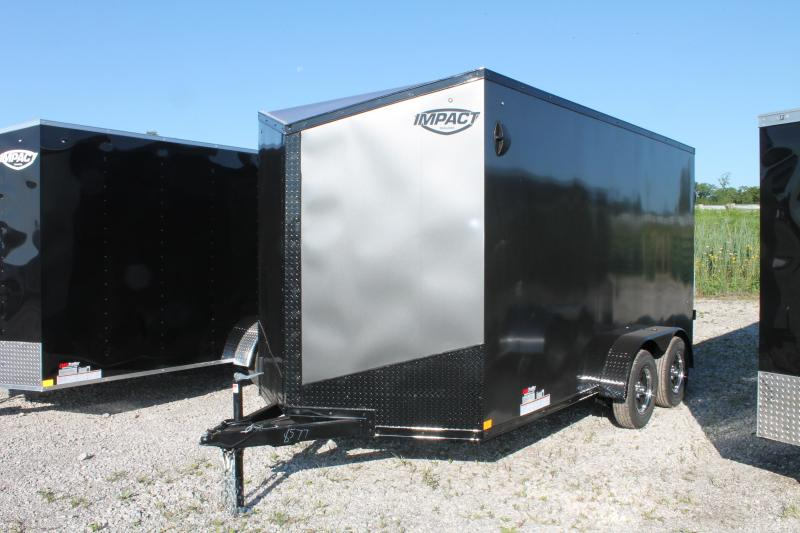 2021 Impact Trailers 7' X 14' RD Enclosed Cargo Trailer