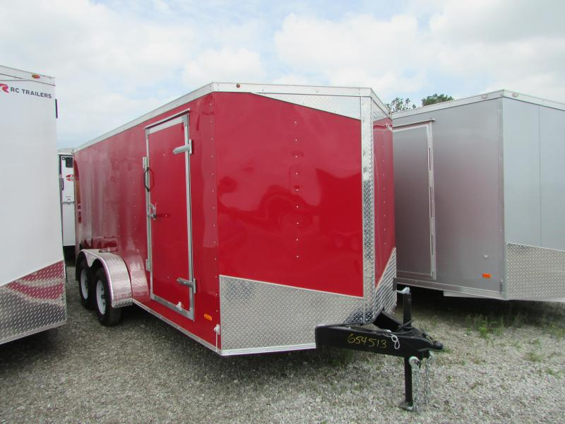 RC Trailers 7 x 16 Enclosed Cargo Trailer