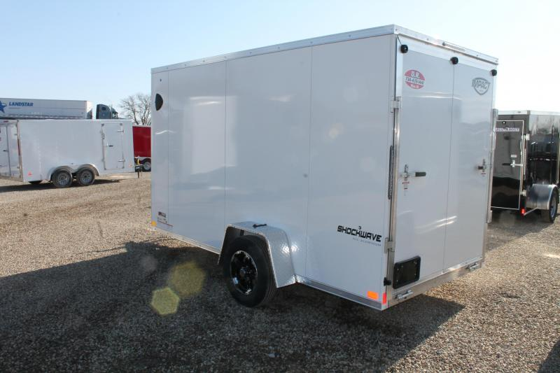 2022 Impact Trailers 6' X 12' RD Enclosed Cargo Trailer