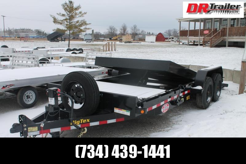2020 Big Tex Trailers 20' TLT 16K Flatbed Trailer