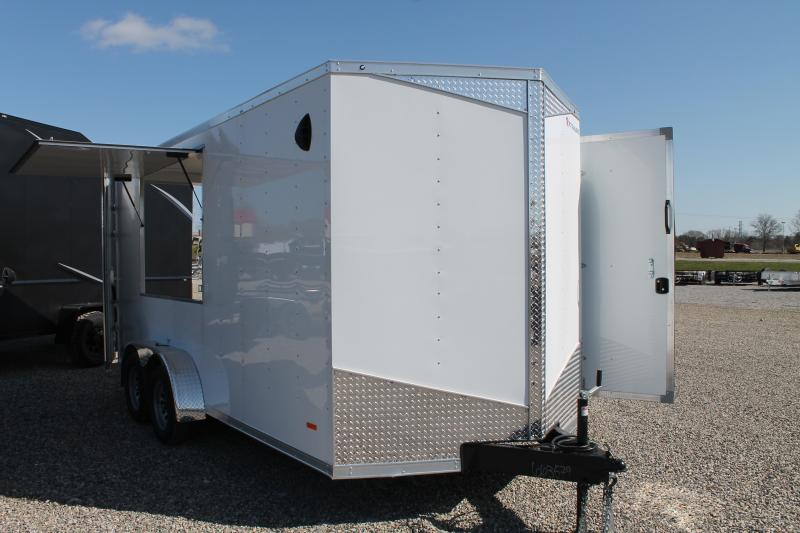 2021 RC Trailers 16' CONCESS Enclosed Cargo Trailer