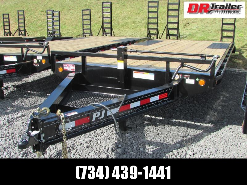PJ Trailers 20 Flatbed Equipment Trailer