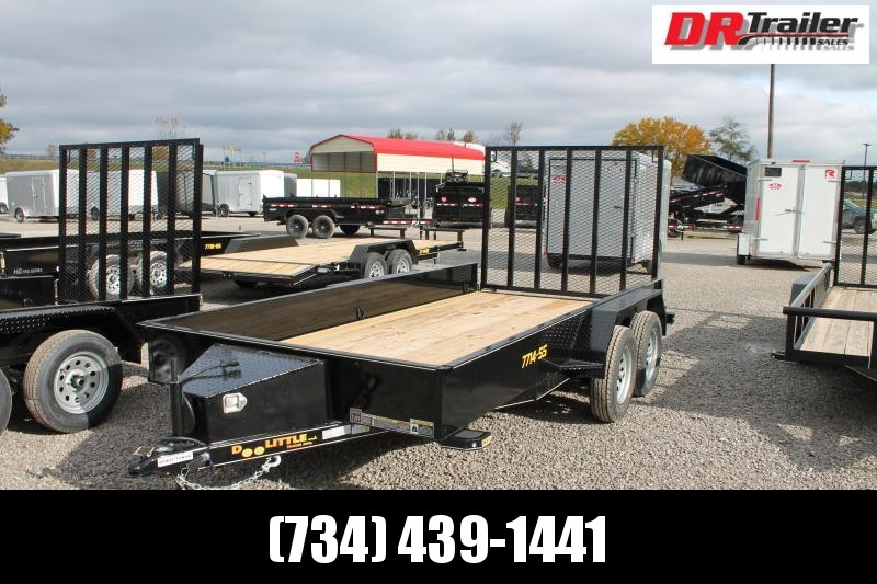 2021 DooLitttle Trailers 14' RG 7K Equipment Trailer
