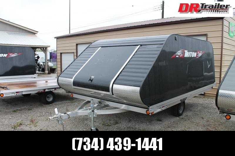 2019 Triton Trailers XT 12 TILT SNOW Snowmobile Trailer