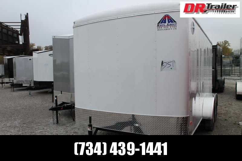 2021 Haul-About 7' X 14' RD TA Enclosed Cargo Trailer