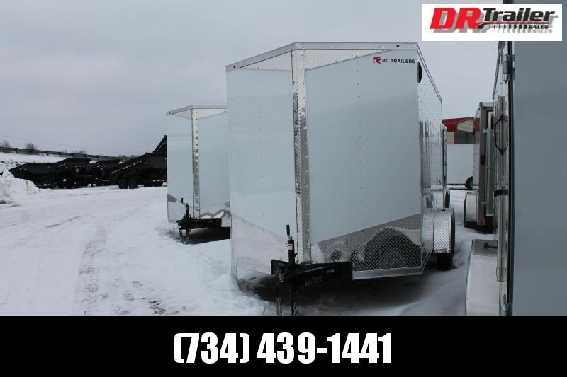 "2021 RC Trailers 7' X 14' + 12"" RD DLX Enclosed Cargo Trailer"
