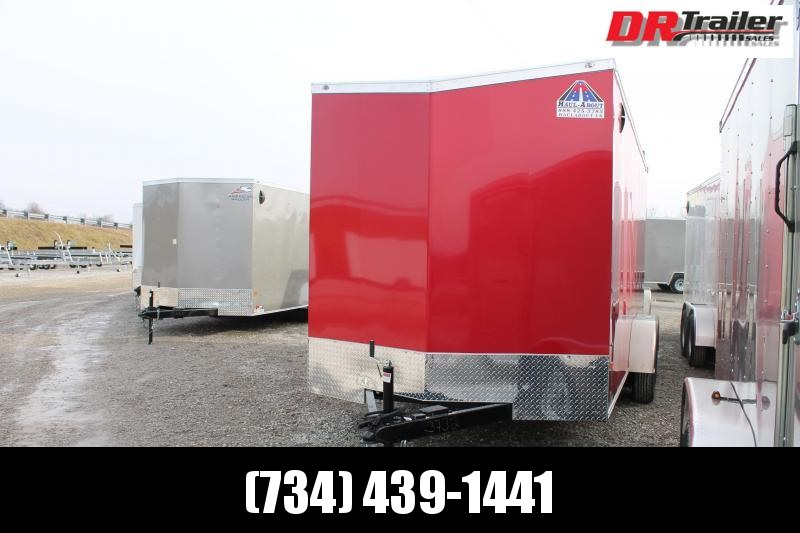 """2021 Haul-About 7' X 16 ' + 12"""" RD Enclosed Cargo Trailer"""