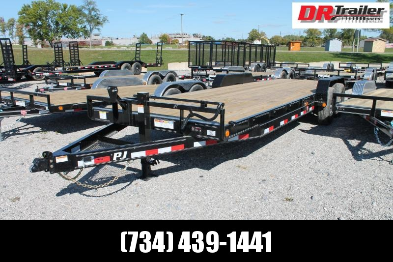 2021 PJ Trailers 24' NO RAMPS Car / Racing Trailer