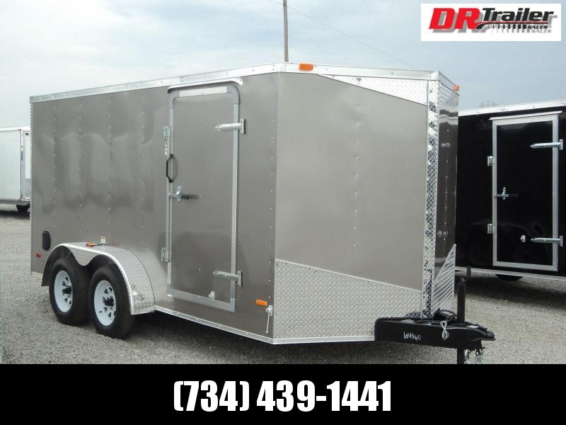 RC Trailers RWT 7X16 TA2 Enclosed Cargo Trailer