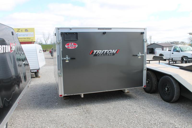Triton TC 118 Hybrid Low-Rider Snowmobile Trailer