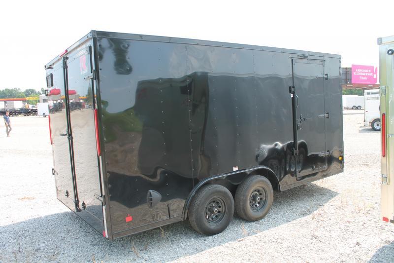 2021 RC Trailers 8' X 16' DD DOUBLE DOOR ENCLOSED TRAILER Enclosed Cargo Trailer