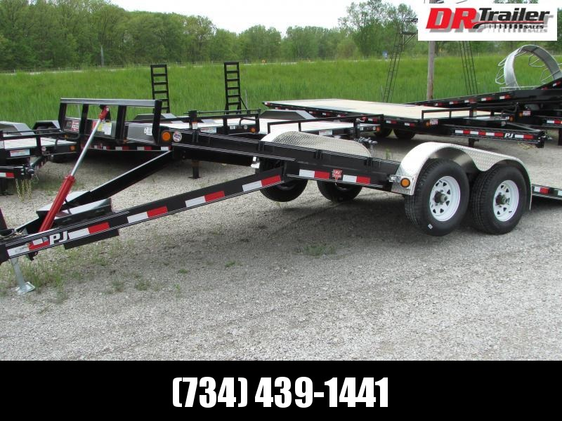 PJ Trailers PJ 20 Full Power Tilt Equipment Trailer