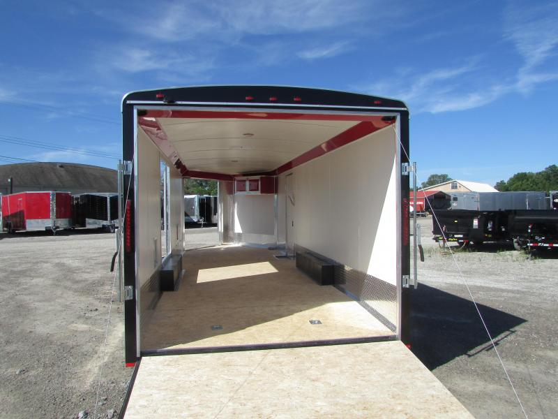 RC Trailers 27 Auto/Snowmobile Combo Enclosed Cargo Trailer
