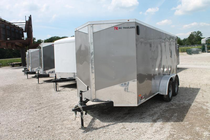 2020 RC Trailers 6' X 12' DD TA Enclosed Cargo Trailer