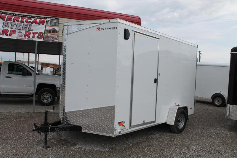 2020 RC Trailers 7' X 12' CONCESSION Enclosed Cargo Trailer