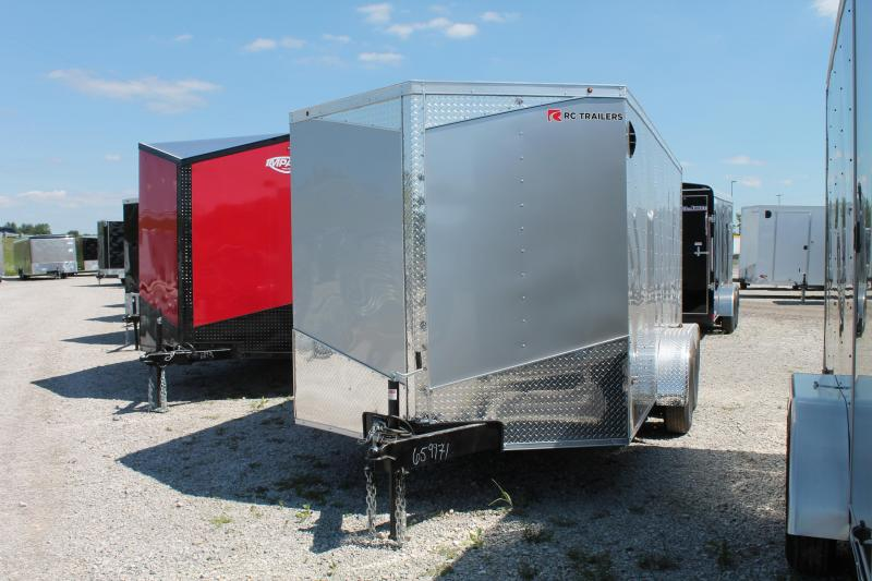 2021 RC Trailers 7' X 14' TA RD Enclosed Cargo Trailer