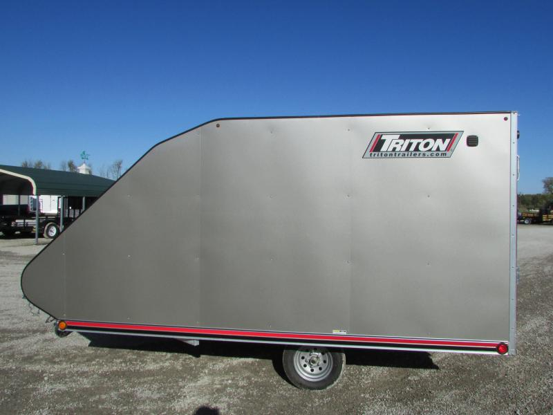 Triton Trailers TC 12' Hybrid Snowmobile Trailer W/Cover
