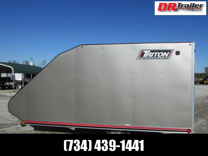 Triton Trailers TC 12' Hybrid Snowmobile Trailer W/Cover