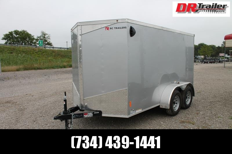 2021 RC Trailers 6' X 12' RD TA Enclosed Cargo Trailer