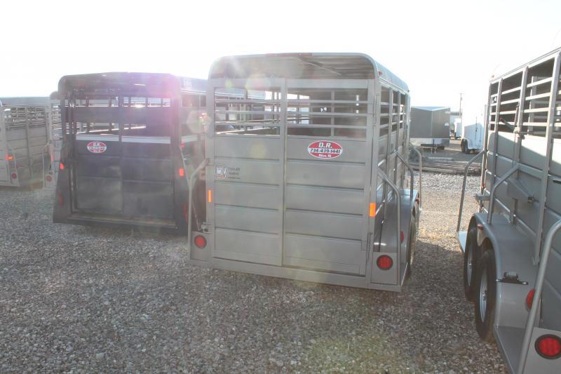 2021 W-W Trailer 14' STOCK TRAILER Livestock Trailer