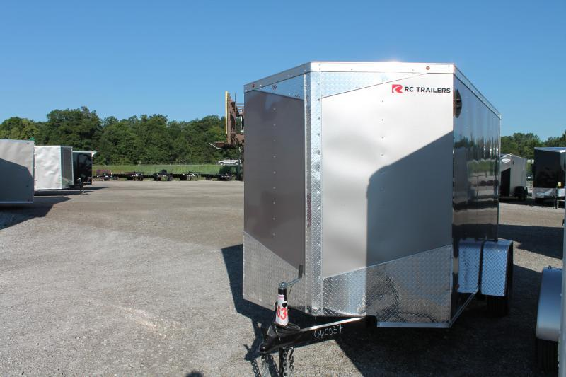 2021 RC Trailers 6' X 10' RD Enclosed Cargo Trailer