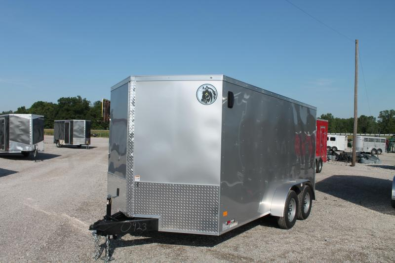 2020 Darkhorse Cargo 7' X 14' RD Enclosed Cargo Trailer