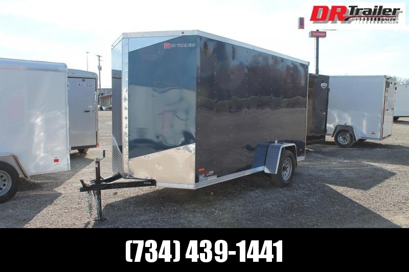 "2021 RC Trailers 6' X 12' + 6"" RD Enclosed Cargo Trailer"