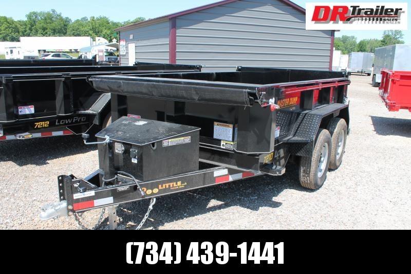 2021 DooLitttle Trailers 6' X 10' 10K GVWR DUMP TRAILER Dump Trailer