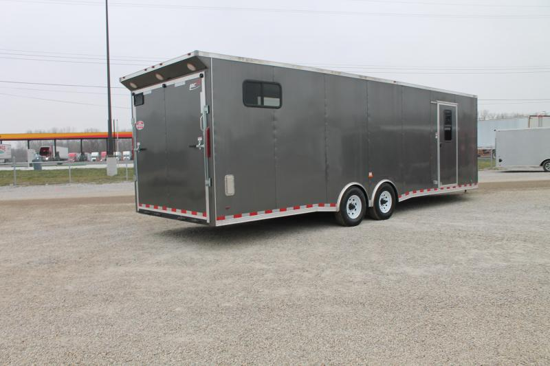 2021 RC Trailers 34' COMBO Snowmobile Trailer