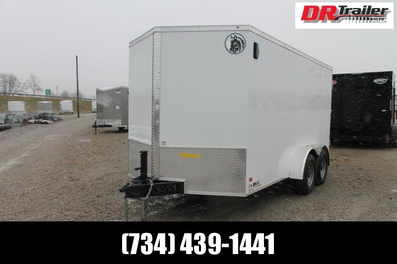 "2021 Darkhorse Cargo 7' X 14' + 6"" DD Enclosed Cargo Trailer"
