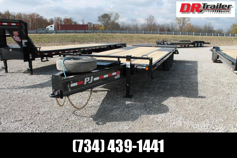 2021 PJ Trailers 25' PL 25K Flatbed Trailer