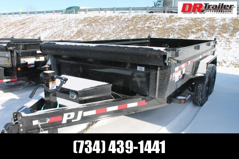 2021 PJ Trailers 14' DL 14K Dump Trailer
