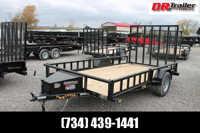 2021 DooLitttle Trailers 12' RG ATV Equipment Trailer