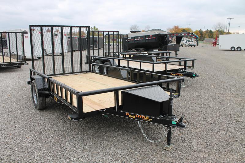 2021 DooLitttle Trailers 12' RG ATV Equipment Trailer