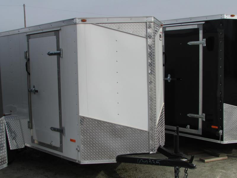 RC Trailers 6 X 12 Enclosed Cargo Trailer