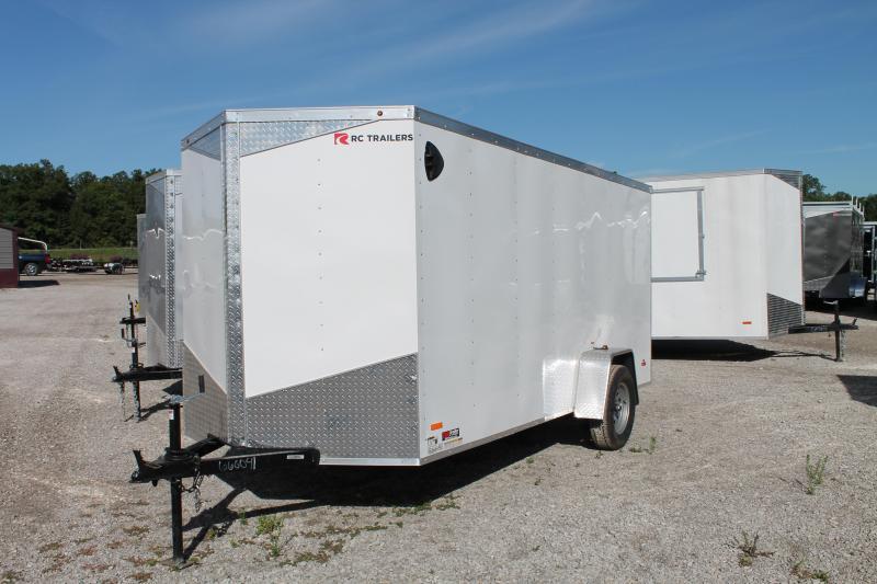 2021 RC Trailers 6' X 14 ' SA RD Enclosed Cargo Trailer