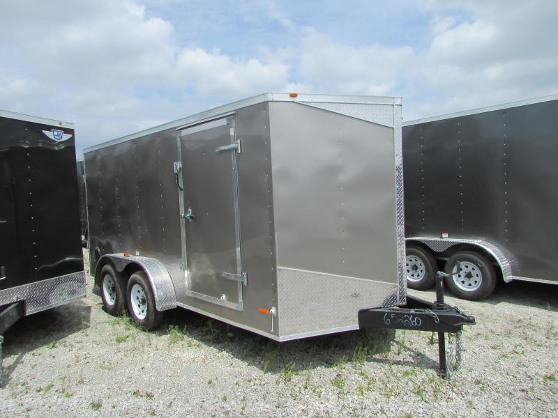 NEW RC Trailers 7 x 16 Enclosed Cargo Trailer