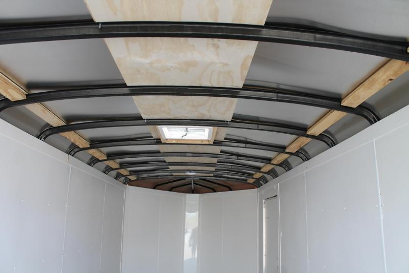 2021 RC Trailers 7' X 23' DOUBLE DOOR TRAILER Enclosed Cargo Trailer
