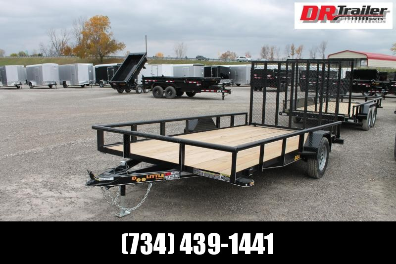 2021 DooLitttle Trailers 7' X 14' RG Equipment Trailer