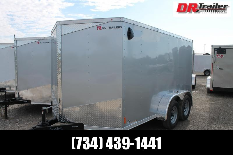 2021 RC Trailers 7' X 12' RD TA Enclosed Cargo Trailer