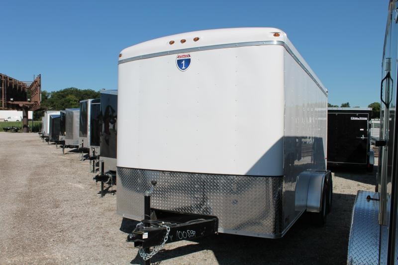 2021 Interstate 7' X 14 DD Enclosed Cargo Trailer