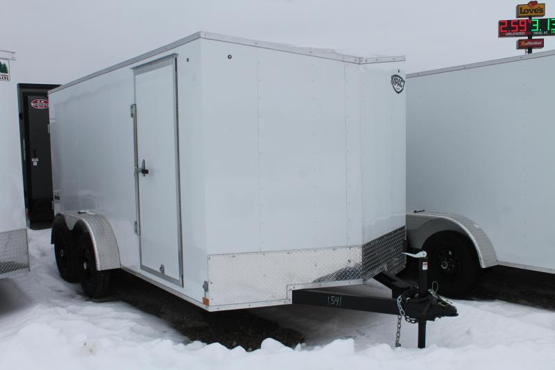 2022 Impact Trailers 7' X 14' RD Enclosed Cargo Trailer