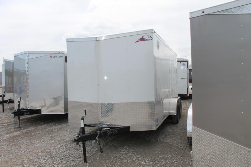 2020 American Hauler 7'X16' RD Enclosed Cargo Trailer