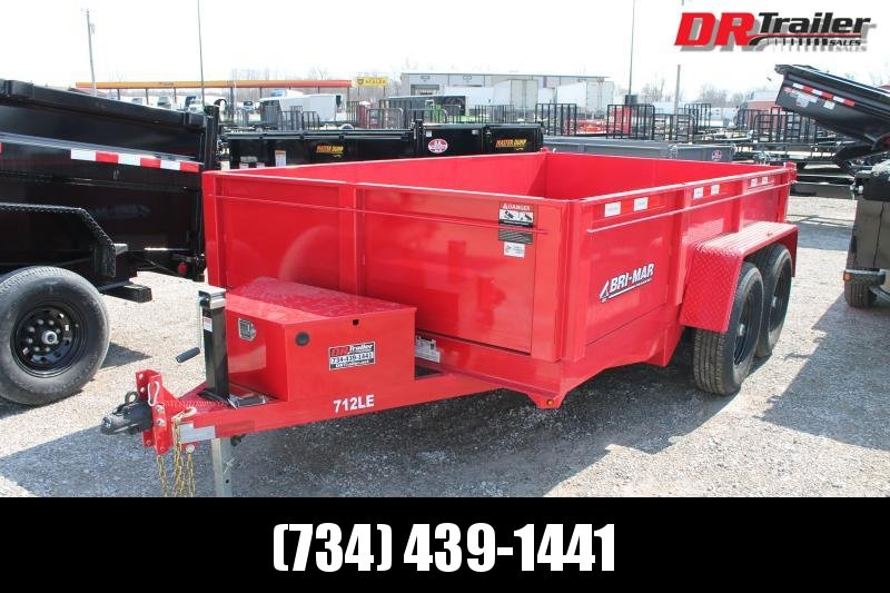 2021 Bri-Mar 7' X 12' 12K Dump Trailer