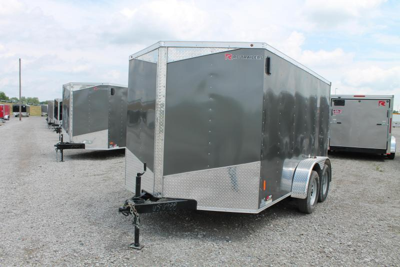 2020 RC Trailers 7' X 12' RD TA Enclosed Cargo Trailer