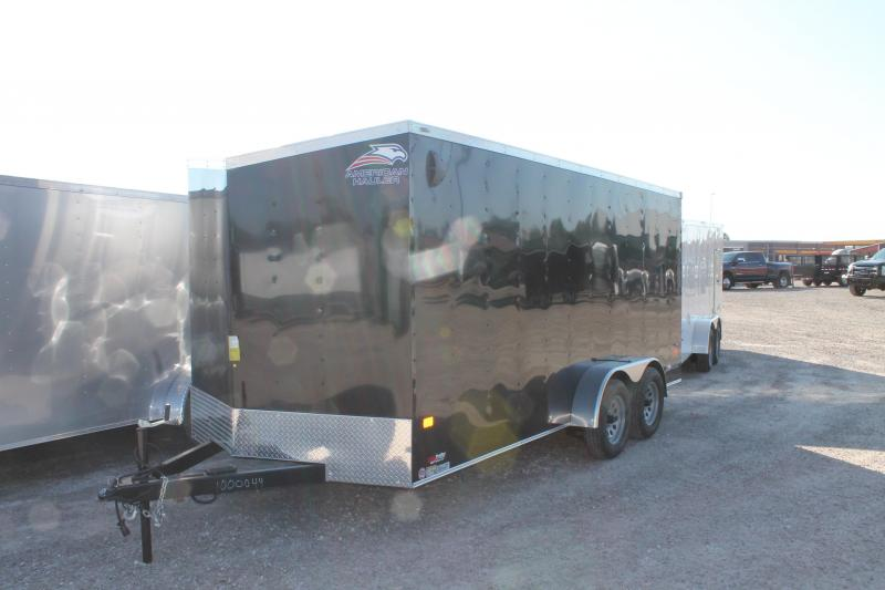 2021 American Hauler 7' X 16 ' TA RD Enclosed Cargo Trailer
