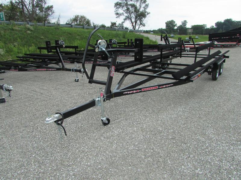 Wolverine Trailers 24 All Star Bunk Style Pontoon Boat Trailer