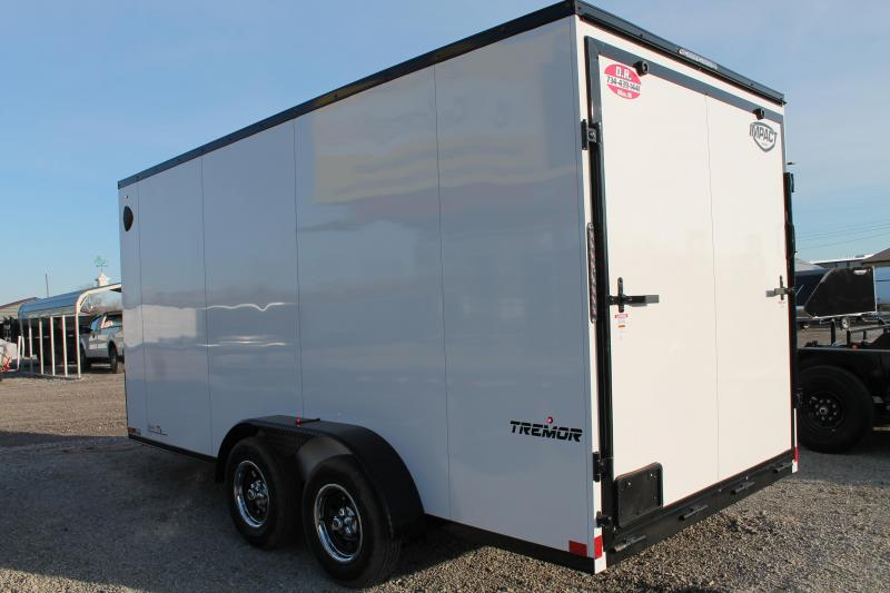 2021 Impact Trailers 7' X 16' RD Enclosed Cargo Trailer